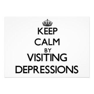 Guarde la calma por las depresiones que visitan Ca