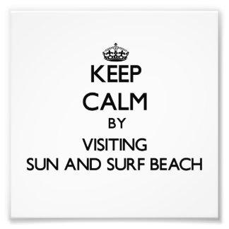 Guarde la calma por Sun que visita y practique sur