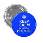 Guarde la calma que estoy con el doctor (con la co pins