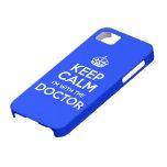 Guarde la calma que estoy con el doctor (con la iPhone 5 Case-Mate cárcasas