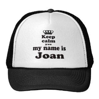 Guarde la calma que mi nombre es sí Joan Gorro