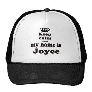 Guarde la calma que mi nombre es sí Joyce Gorra
