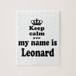 Guarde la calma que mi nombre es sí Leonard