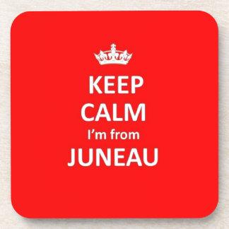 Guarde la calma que soy de Juneau Posavasos