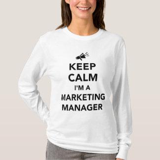 Guarde la calma que soy director de marketing playera