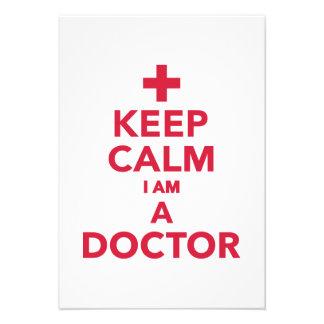 Guarde la calma que soy doctor