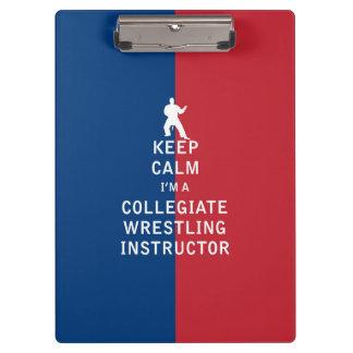 Guarde la calma que soy instructor de lucha