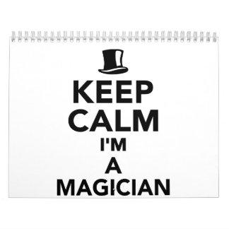 Guarde la calma que soy mago calendario