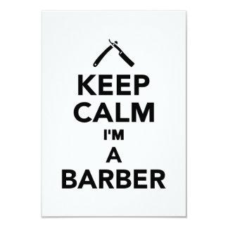 Guarde la calma que soy peluquero