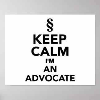 Guarde la calma que soy un advocat