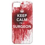 Guarde la calma que soy un caso sangriento del iPh iPhone 5 Carcasa