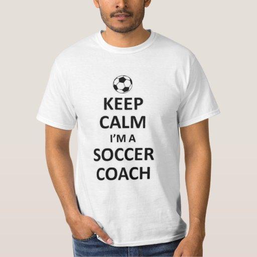 Guarde la calma que soy un coche del fútbol poleras