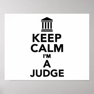Guarde la calma que soy un juez