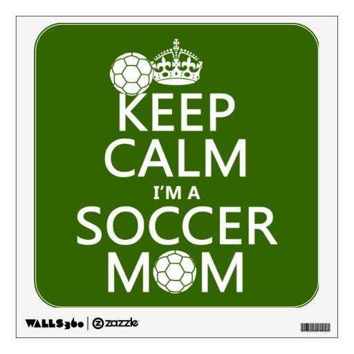 Guarde la calma que soy una mamá del fútbol (en cu
