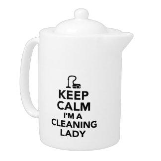Guarde la calma que soy una señora de la limpieza