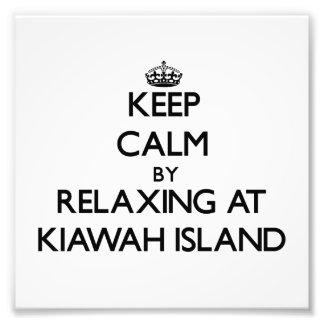 Guarde la calma relajándose en el villancico de Ki