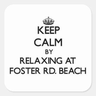Guarde la calma relajándose en Foster Rd Vare Mic