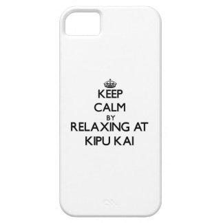 Guarde la calma relajándose en Kipu Kai Hawaii iPhone 5 Carcasa