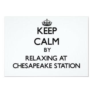 Guarde la calma relajándose en la estación Maryla Anuncios
