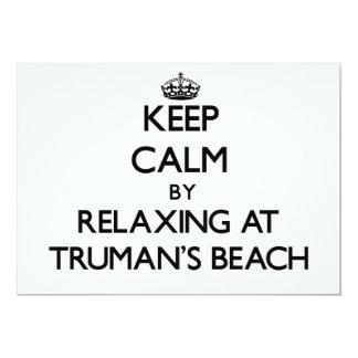 Guarde la calma relajándose en la playa Nueva York Comunicados Personales