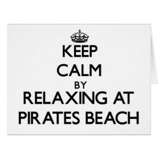Guarde la calma relajándose en la playa Tejas de l