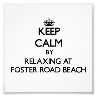 Guarde la calma relajándose en la playa Wiscons de Cojinete