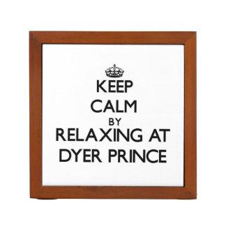 Guarde la calma relajándose en príncipe Massachuse
