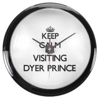 Guarde la calma visitando a príncipe Massachusetts Relojes Aquavista