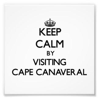 Guarde la calma visitando Cabo Cañaveral la Florid
