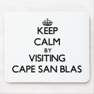 Guarde la calma visitando el cabo San Blas la Alfombrilla De Ratón