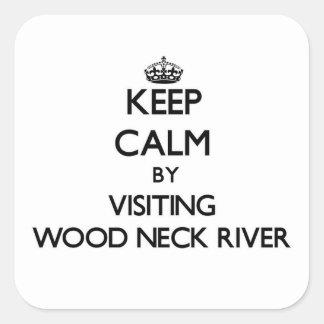 Guarde la calma visitando el río de madera Massach