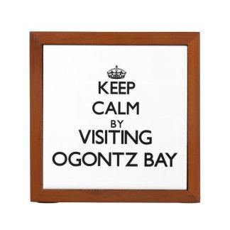 Guarde la calma visitando la bahía Michigan de Ogo