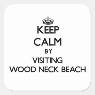 Guarde la calma visitando la playa de madera Massa