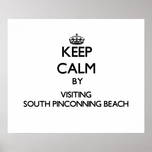 Guarde la calma visitando la playa del sur Michi d Impresiones