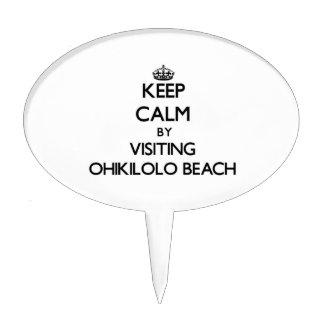 Guarde la calma visitando la playa Hawaii de Ohiki