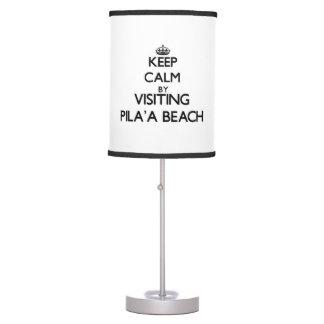 Guarde la calma visitando la playa Hawaii de Pila
