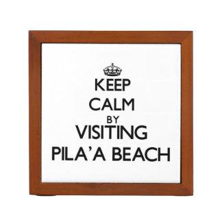 Guarde la calma visitando la playa Hawaii de Pila'