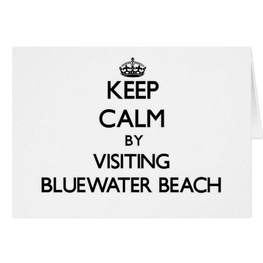 Guarde la calma visitando la playa la Florida de B Tarjeta
