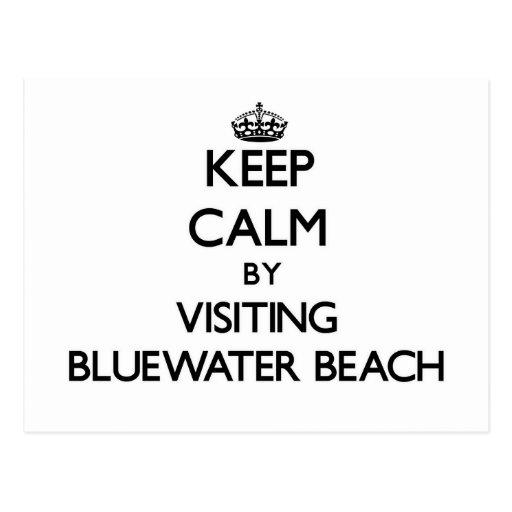 Guarde la calma visitando la playa la Florida de B Postal