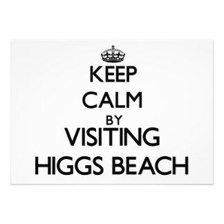 Guarde la calma visitando la playa la Florida de H