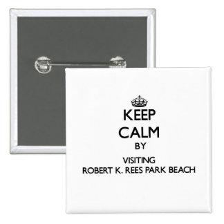 Guarde la calma visitando la playa la Florida de R Pins