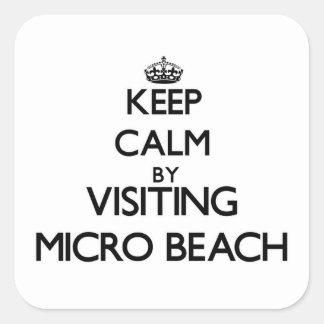 Guarde la calma visitando la playa micro Mariana s