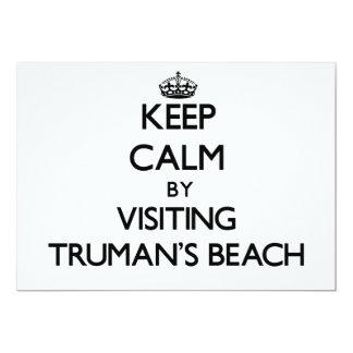 Guarde la calma visitando la playa Nueva York de Anuncios Personalizados
