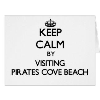 Guarde la calma visitando la playa nuevo Hamps de