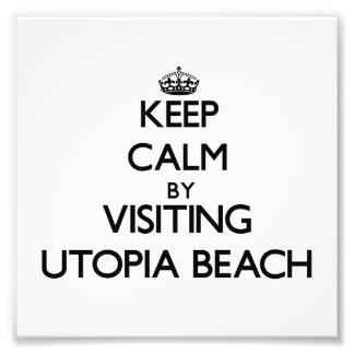 Guarde la calma visitando la playa Ohio de Utopía Impresiones Fotograficas