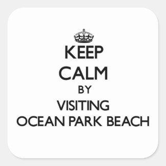 Guarde la calma visitando la playa Washington del