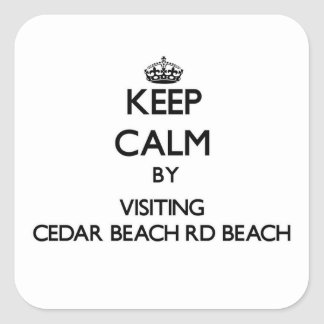 Guarde la calma visitando la playa Wiscons del Rd