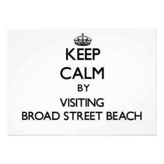 Guarde la calma visitando la playa Wisconsin de la