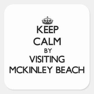 Guarde la calma visitando la playa Wisconsin de Colcomanias Cuadradass
