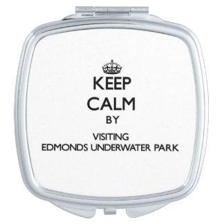 Guarde la calma visitando lavado del parque de Edm Espejo Maquillaje